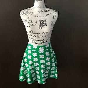 Dresses & Skirts - St Patricks shamrock skirt